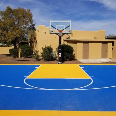 basketball sport court in phoenix arizona