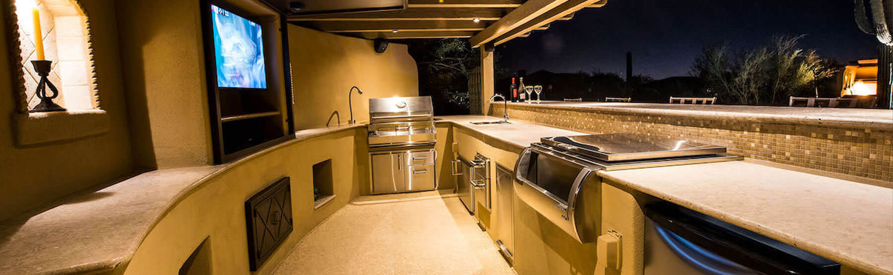 paradise valley outdoor kitchens