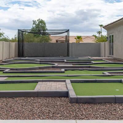 Residential Mini Golf and Putt Putt Installers Phoenix