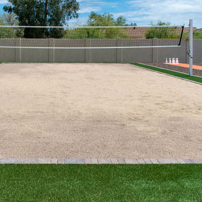 Residential Volleyball Courts Phoenix Arizona
